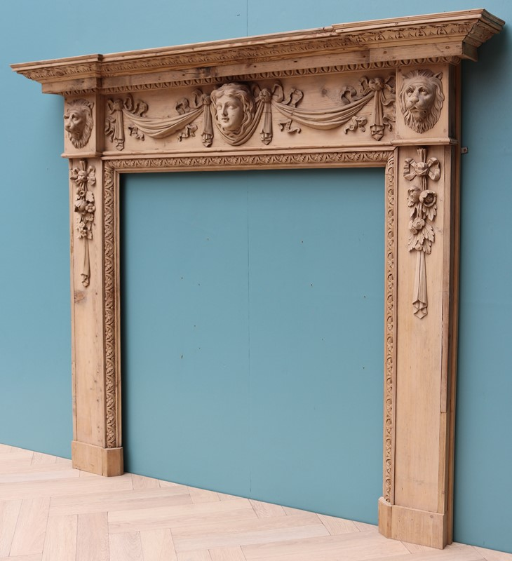 An Antique Carved Pine Fire Surround in The Style -uk-heritage-30032-14-main-637232394226686592.JPG