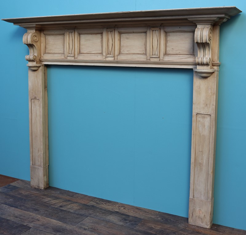 An Antique Victorian Style Carved Pine Fire Surrou-uk-heritage-30048-16-main-637233342798150848.JPG