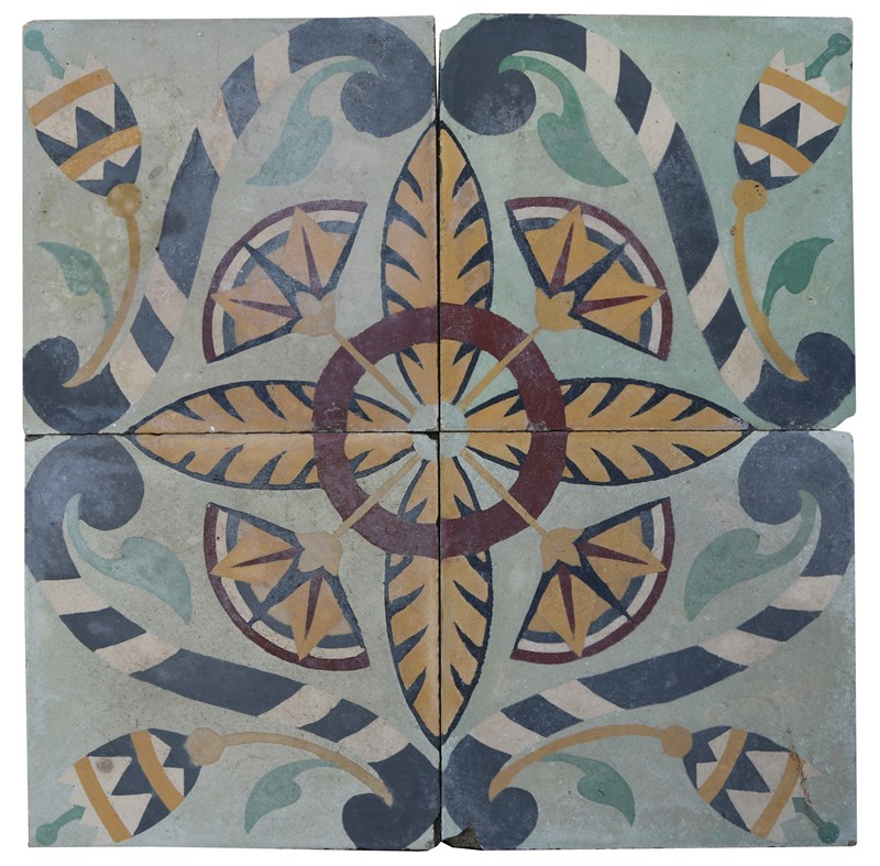 A Reclaimed Set of Four Patterned Tiles-uk-heritage-30092-11-main-637248929324317707.JPG