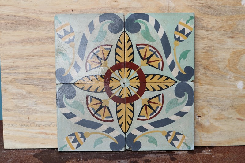 A Reclaimed Set of Four Patterned Tiles-uk-heritage-30092-12-main-637248929372286245.JPG
