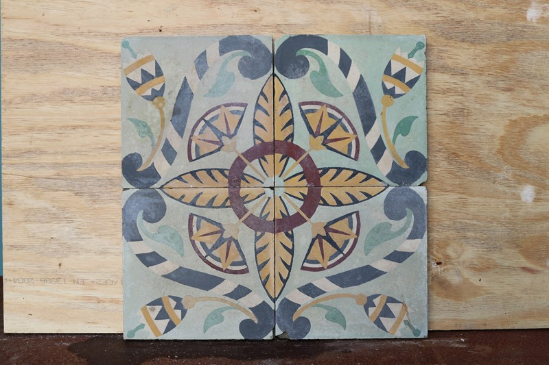 A Reclaimed Set of Four Patterned Tiles-uk-heritage-30092-13-main-637248929425098637.JPG
