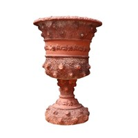 Antique Terracotta Planter Urn