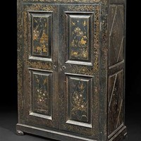 Cupboard with Chinese lacquer