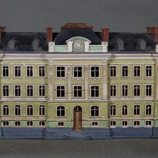 Maquette of A German Schoolhouse