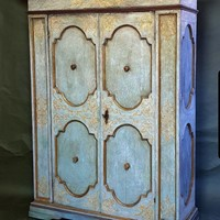 Umbrian Cupboard with original paint decor