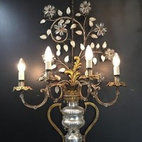 A pair of huge and impressive Bagues Sconces