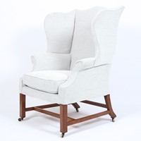 George III Wing Armchair