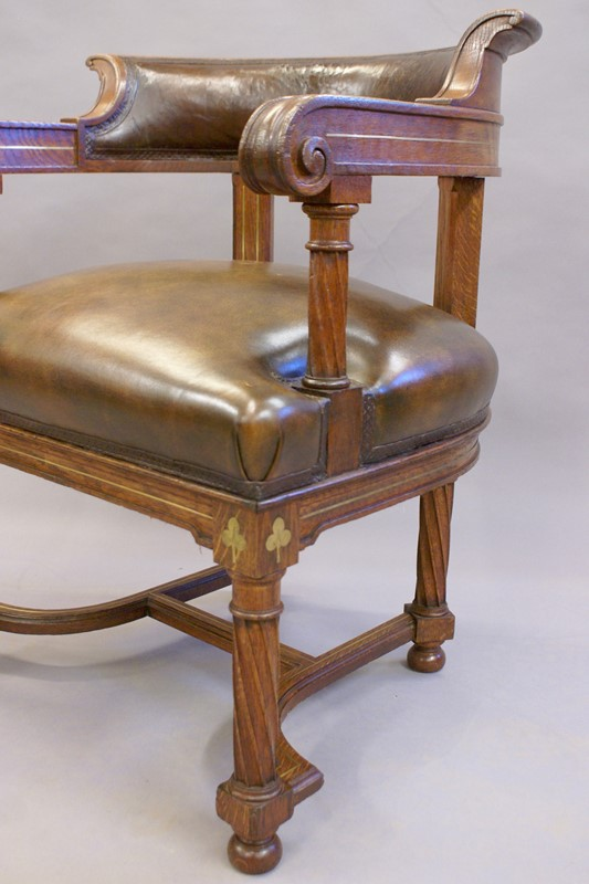 A rare bold 19th century brass inlaid arm chair-w-j-gravener-antiques-dsc03842-main-637062162873075881.jpg