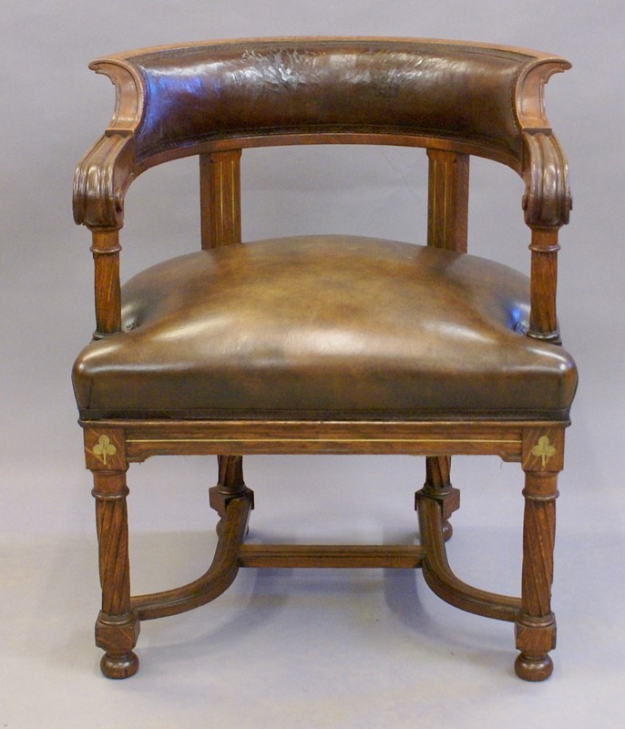 A rare bold 19th century brass inlaid arm chair-w-j-gravener-antiques-dsc03843-main-637062162626812081.jpg