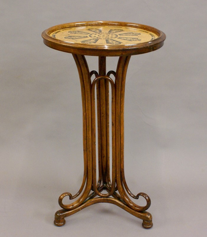 Beech Bentwood Art Nouveau Table by Thonet-w-j-gravener-antiques-dsc04012-main-637064952096396796.jpg