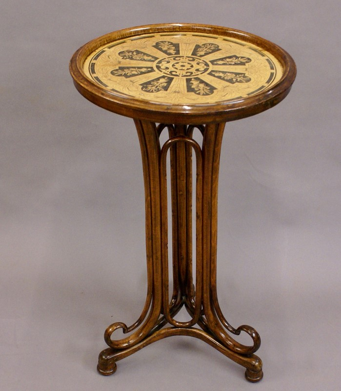 Beech Bentwood Art Nouveau Table by Thonet-w-j-gravener-antiques-dsc04013-main-637064952191083606.jpg