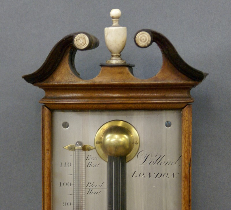 A George III mahogany bow-fronted stick barometer-w-j-gravener-antiques-dsc04910-main-637177256143195514.jpg