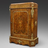 A superb Pier cabinet attributed to Gillows