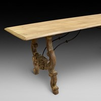 A large 19th century Spanish refectory table