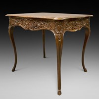 18thC Liegeios center table