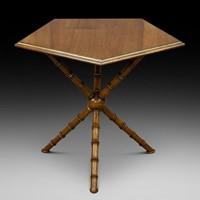 A Gypsy table by Howard & Sons