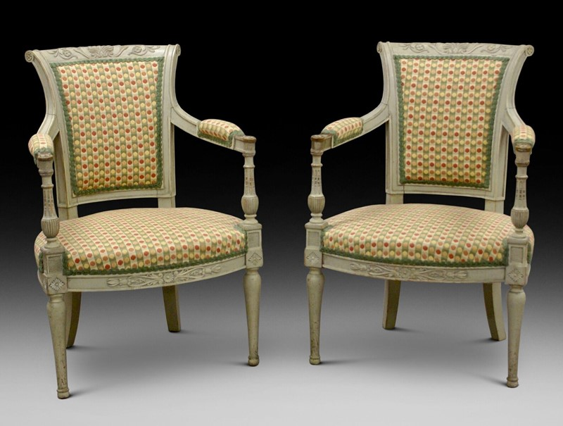 A pair of 19th century Gustavian style arm chairs-w-j-gravener-antiques-p-main-636773932272554711.jpeg
