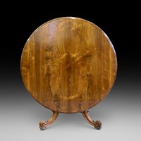A Victorian Rosewood breakfast/centre table.