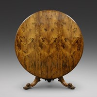A superb large rosewood centre table