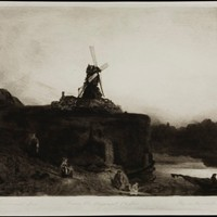 Rembrandt's Mill by Reynolds