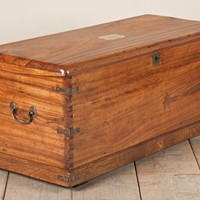 Mrs Mecklenburgh's Camphorwood & Brass-Bound Trunk
