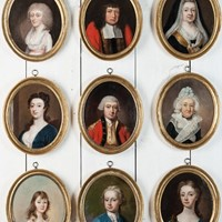 Portraits of the Oliver Family