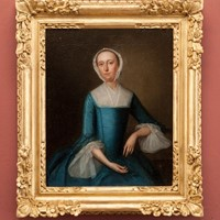 Finely Painted Georgian Portrait of A Lady's Maid