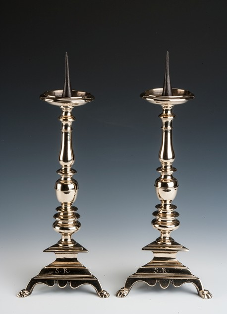 Handsome pair of Copper-Alloy Pricket Candlesticks-walpoles-2931_main_636474959573750007.jpg