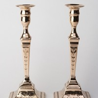 Prince of Wales Candlesticks. Circa 1790.