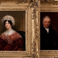 A Fine Pair of Portraits of The Parker Family