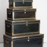 Stack of 5 Export Trunks