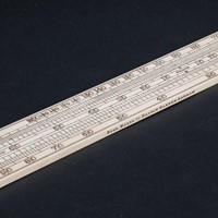 Alcohol Slide Rule