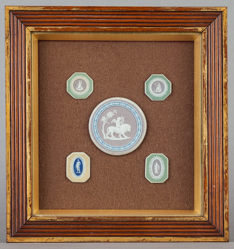 A Collection of Wedgwood Tri-Colour Plaques-walpoles-3683-main-636988736462821602.jpg