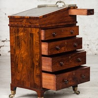 Exceptionally Small Regency Davenport Desk