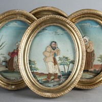 Set of Four Italian Peasant Folk
