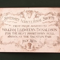 Agricultural Prize For 1936
