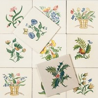 Packard & Ord Flower Tiles