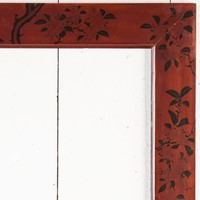 A Beautiful Japanese Decorated Lacquer Frame