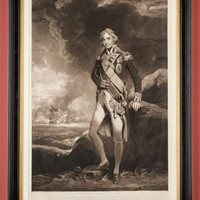 Fine Early Impression  Admiral Lord Nelson