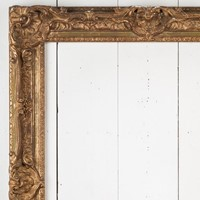 Carved and Gilded Frame