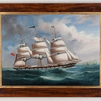 China Trade Portrait of the Ship Columba