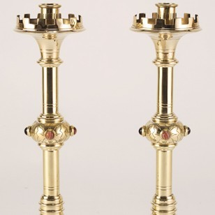Reformed Gothic Candlesticks