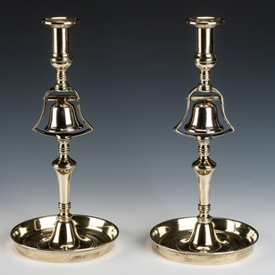 Pair of Tavern Candlesticks