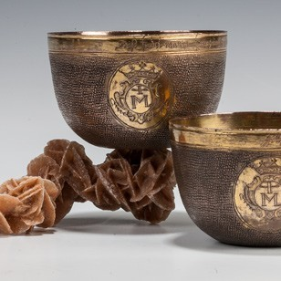 A Pair of Herrengrund Cups