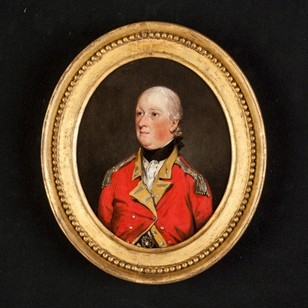 Portrait of an Officer by John Downman