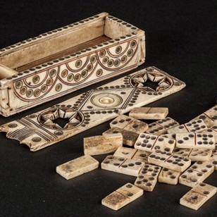 Napoleonic Bone Dominoes