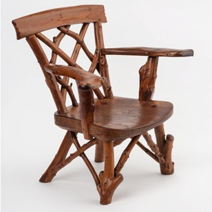 Charming Rustic Childs Chair or journeymans sample