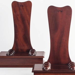Two Fine Plate-Stands