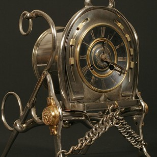 French Cavalry Regimental Clock