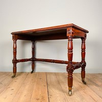 Beautiful and Bold George IV Rosewood Side Table